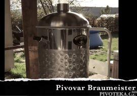 Ukázka výroby domácího piva pivovar Braumeister PLUS