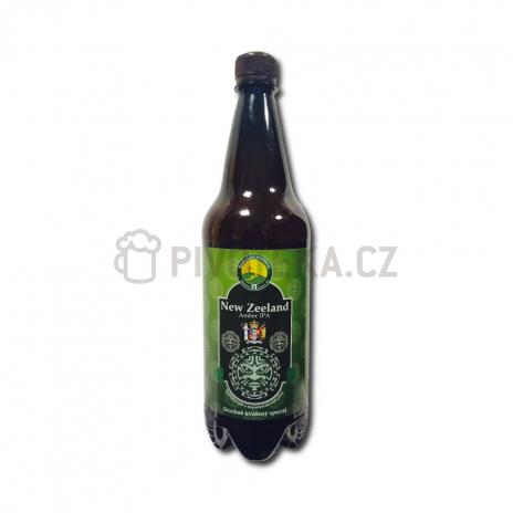 New Zeeland Amber IPA 15° PET 1l Beskydský pivovárek