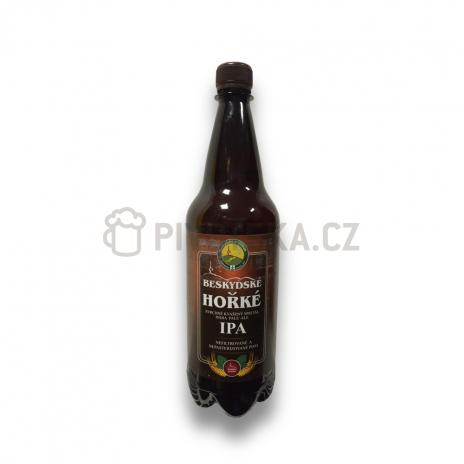 Beskydské hořké  14° PET 1l Beskydský pivovárek