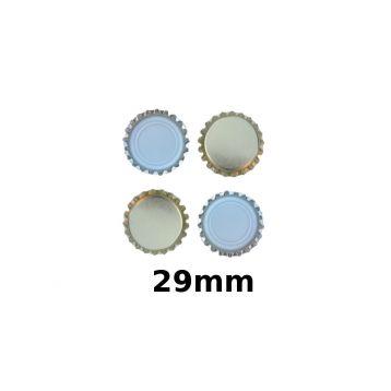 Korunkové uzávěry zlaté  29mm 200ks