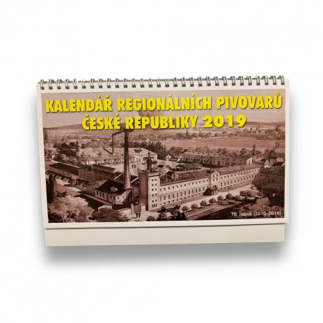 Kalendář regionálních pivovarů ČR 2019 X