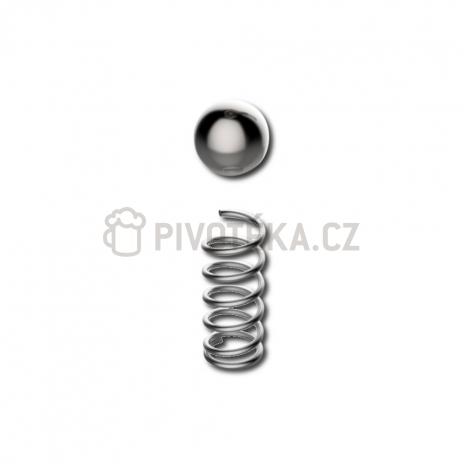 Pružina + kulička pojistného ventilu Grainfather