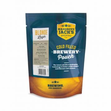 Blonde lager Mangrove Jack´s mladinový koncentrát 1,8kg