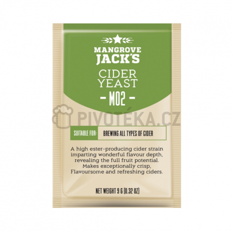 Mangrove Jack´s cider M02 kvasnice 9g