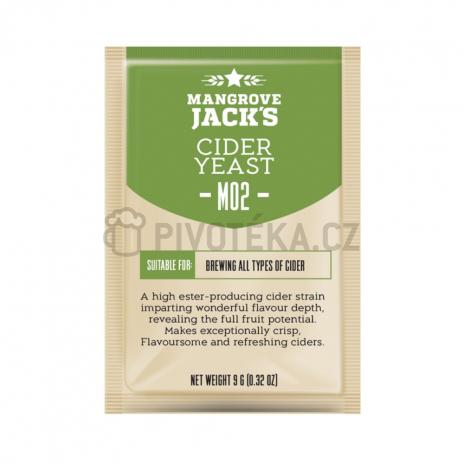 Mangrove Jack´s cider M02 kvasnice 10g