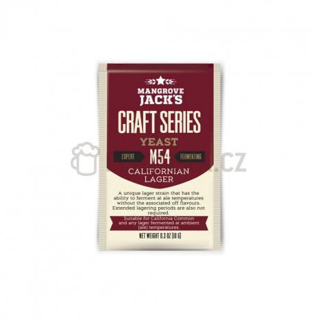 Mangrove Jack´s Californian lager M54 kvasnice 10g
