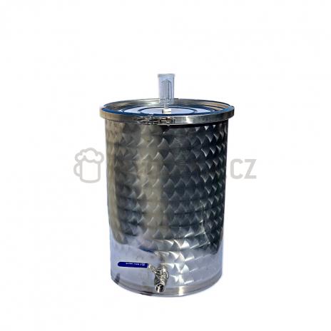 Nerezová fermentační nádoba 30l s kvasnou zátkou