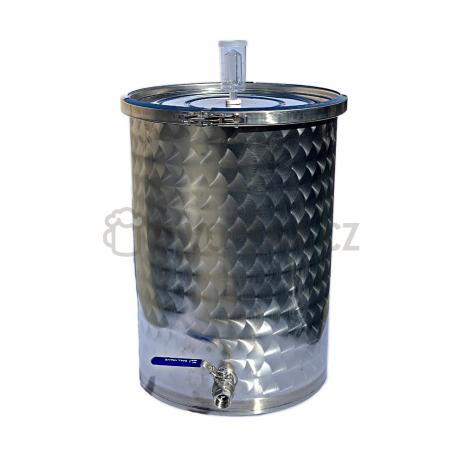 Nerezová fermentační nádoba 55l s kvasnou zátkou