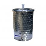 Nerezová fermentační nádoba 50l s kvasnou zátkou