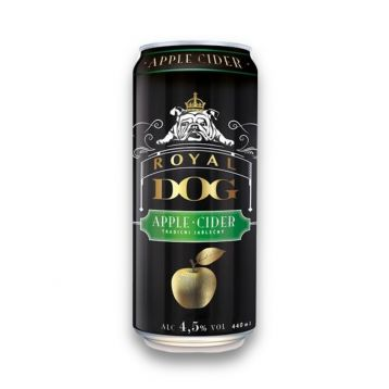 Royal dog cider plech 0,44l