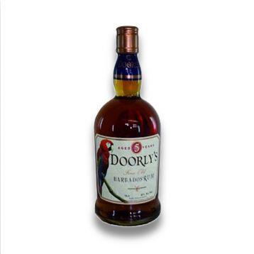 Doorlys 5 Y.O. Rum 0,7l 40%