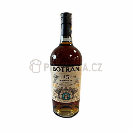 Rum ron botran reserva 15y.o. 0,7l