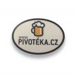 Samolepka na auto pivotéka.cz