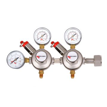 Redukční ventil CO2 micromatic 2 stupně G3/4