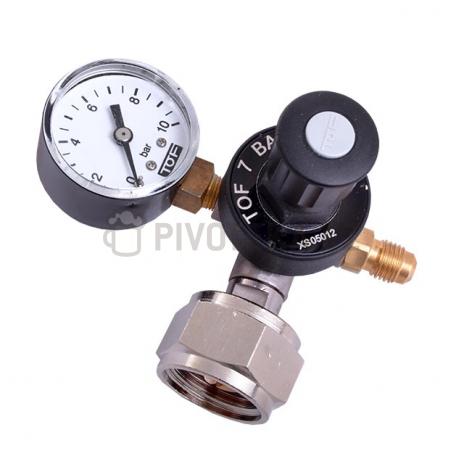 Redukční ventil TOF CO2 mini 1st. G3/4