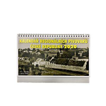 Kalendář regionálních pivovarů ČR 2020 X