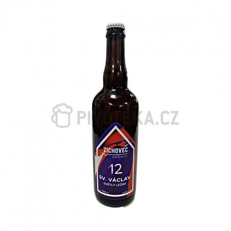 Sv. Václav 12° 0,7l pivovar Zichovec