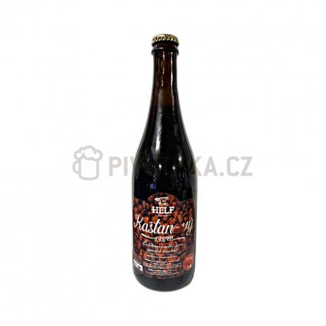 Kaštanový Helf 13° 1l PET pivovar Helf