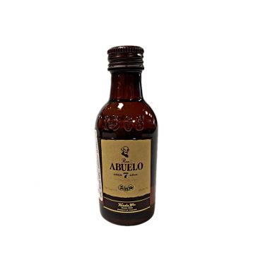 Abuelo MINI rum 7 Y.O. miniatura 0,05l 40%