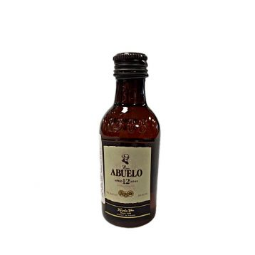 Abuelo MINI rum 12 Y.O. miniatura 0,05l 40%