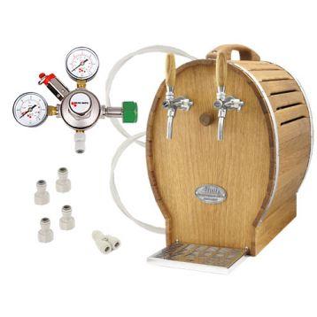 Lindr soudek 50 chrom + redukční ventil N2