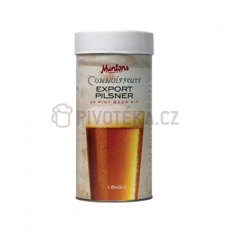 Export pilsner 1,8 kg mladinový koncentrát muntons