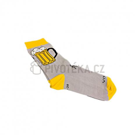 Ponožky pivo 1 velikost 39 -42