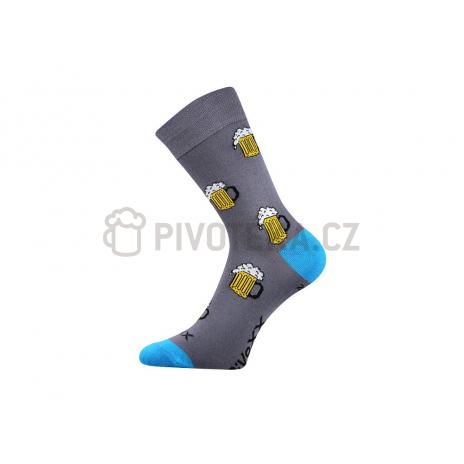 Ponožky pivo 2  velikost 43-46