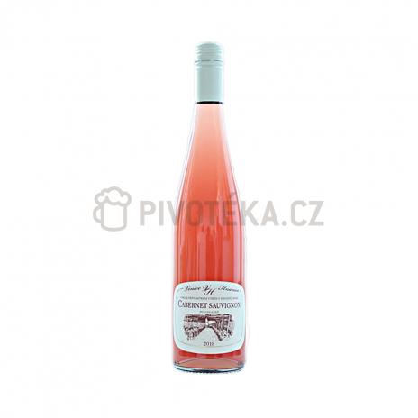 Cabernet sauvignon rosé 2018 pozdní sběr
