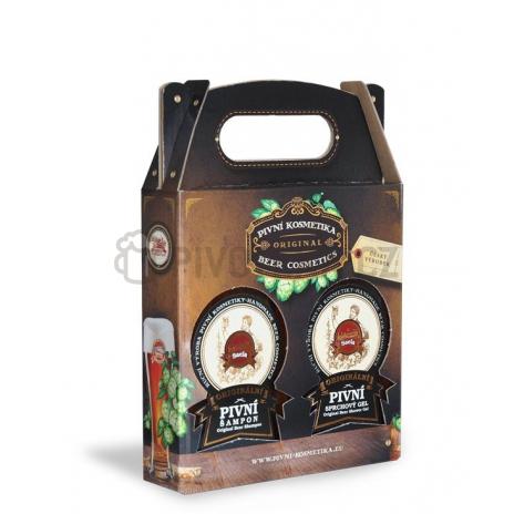Saela dárkové balení pivní šampón + sprchový gel