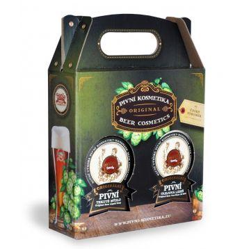 Saela dárkové balení mýdlo + pivní olejová lázeň