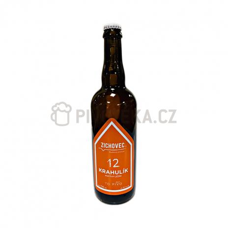 Krahulík 12°  0,7l pivovar Zichovec