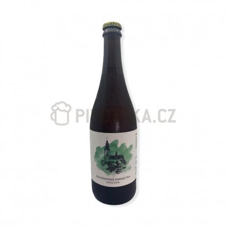 Ležák 12° 0,7l pivovar Pivečka