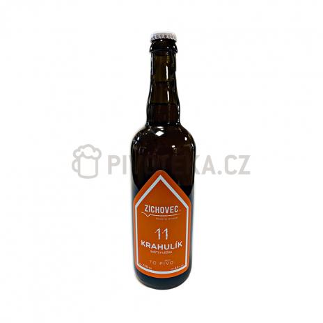 Krahulík 11°  0,7l pivovar Zichovec
