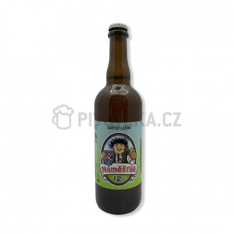 Náměšťák  12° 0,7l pivovar Jadrníček