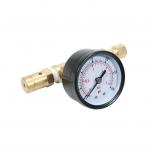 Přetlakový pojistný ventil s manometrem