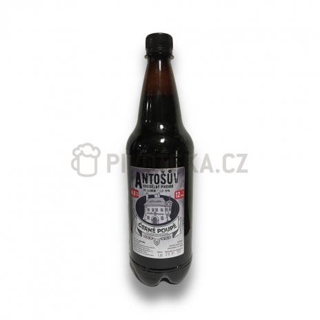 Černé poupě 12° 0,7l pivovar Antoš