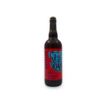 Antošův ležák  11° 0,7l PET  pivovar Antoš
