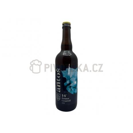 Crystal Ipa  14° 0,7l pivovar Antoš