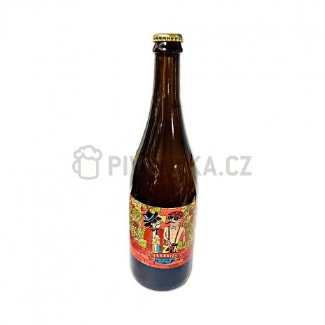 Ležák 11° 0,7l pivovar Frankies