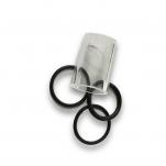 Sada průhledítko sklíčko sanitační přístroj Swing + 3 x těsnění