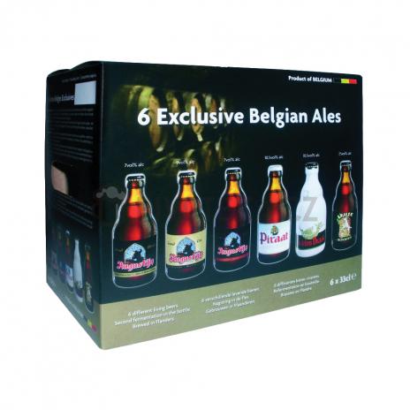 Exklusive Belgian ales set 6 x 0,33
