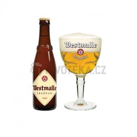 Westmalle tripel trappist 19° 0,33l