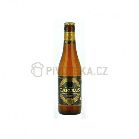 Gouden carolus tripel 18° 0,33l