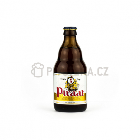 Piraat triple hop 23° 0,33l