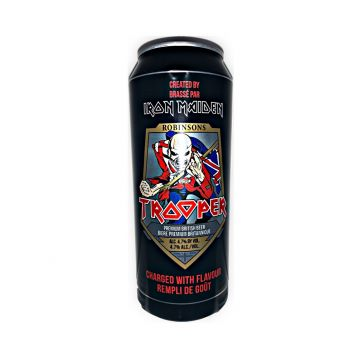 Iron maiden´s Trooper plechovka 0,5l 4,7%