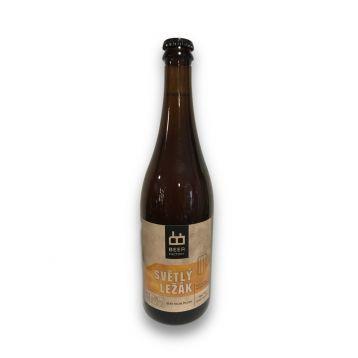 Světlý ležák  12° 0,7l Beer factory