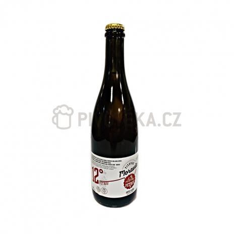 Petrov 12°  0,7l pivovar Moravia