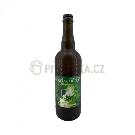 Cloud Scanner 15° 0,7l pivovar Černý potoka