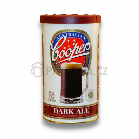 Dark ale 1,7 kg  mladinový koncentrát Coopers